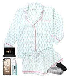 """""""Tonight at VBS I had to chase a kid around the church, he escped..."""" by erinleigh02 ❤ liked on Polyvore featuring Casetify, Clinique and NIKE"""