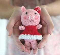 Baby Pig Free Crochet Pattern