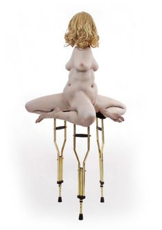 Juxtapoz Magazine - Best of 2015: Monica Piloni's Sculptural Horror