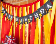 Fire Truck / Firefighter Birthday Party Ideas | Photo 8 of 16