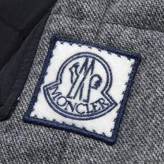 Moncler Gamme Bleu Zip Gilet (Grey)