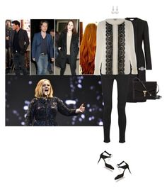 """Attending Adele's concert at the O2 Arena with Gustaf, Grace and Augustus to celebrate Augustus' birthday"" by hrhprincessamelia ❤ liked on Polyvore featuring STELLA McCARTNEY, Victoria, Victoria Beckham, Alice by Temperley and Burberry"
