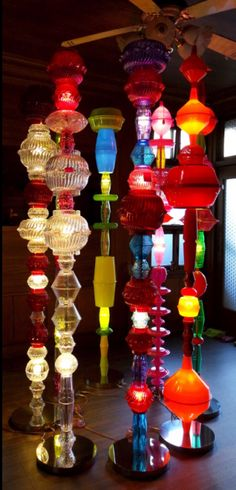 Alchemy, by Choi Jeong Hwa Plastic Bowls, Plastic Waste, Recycled Art Projects, Ballet, Art Furniture, Alchemy, Installation Art, Steel Frame, Fun Crafts