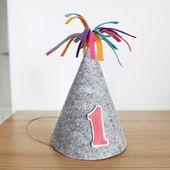 ファーストバースデーパーティーハットパーティハンドメイド1歳ファーストバースデー誕生日ベイビーシャワー赤ちゃんパーティーグッズ雑貨バンティングピクニック