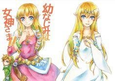 Skyward Sword Zelda's