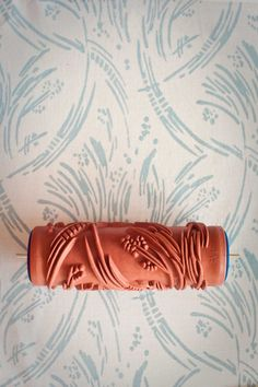 Patterned Paint Rollers - wallpaper alternative. No. 3 Patterned Paint Roller from The by patternedpaintroller on Etsy £15.00 ~ $25.34