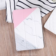 """Simple Elegant Wooden Grain Flip Cover For iPad Pro 9.7"""" Air Air2 Mini 1 2 3 4 Tablet Case Protective Shell + case for iphone"""