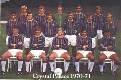 crystal palace 1970-71 team group