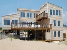 Sandbridge Beach - Oceanfront Vacation Home / Siebert Realty / Virginia Beach, VA  - Sea Oats - 2956 Sandfiddler Road