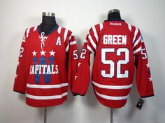 Washington Capitals 52 Mike GREEN 2015 Winter Classic Jersey - Red