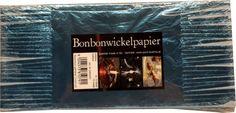 Bonbonwickelpapier Eisblau Aluminium ca. 10 Blatt Aluminium, Cards Against Humanity, Candy, Paper