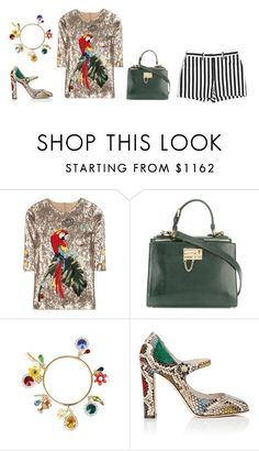 """""""Untitled #3994"""" by michelanna ❤ liked on Polyvore featuring Dolce&Gabbana"""