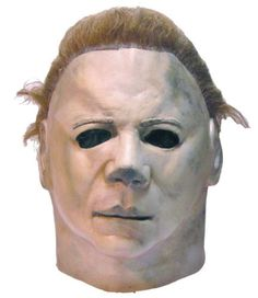 Michael Myers Halloween II Mask Costume Prop Movie Trick Treat Full Head Latex