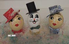Usando a criatividade estas casquinhas de ovos dão um toque especial para a Páscoa. Criatividade:Heda Seffrin Fotografia:Simone Seffrin