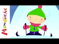 Jégen járó január (Gyerekdalok és mondókák, rajzfilm gyerekeknek) - YouTube November, Youtube, November Born, Youtubers, Youtube Movies
