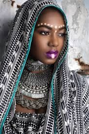 Image result for female tribal face paint