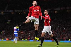 Rooney scored the only goal of the match for United