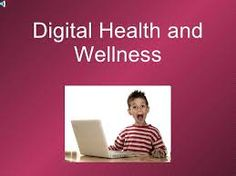 Definition and Overview  Digital Health and Wellness is the branch of digital citizenship that focuses on using technology safely and appropriately. In the technological world we live in today our society is becoming dependent on the use of internet. It is becoming increasingly neccessary to inform our students and children about the dangers involved with frequent internet use.