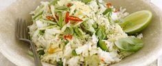 ... chipotle salsa or our Camargue red rice salad with feta and pine nuts
