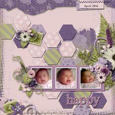 Spring+With+Maxine - Scrapbook.com