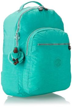 Kipling Seoul Large Backpack With Laptop Protection, Breezy Turq,