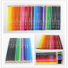 New Painting Color Pencil Artists Graphite Graded Coloured Pencils 36 Colors GN #Unbranded