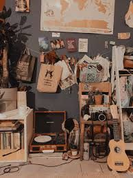 Ugh it so messy I need to clean ittt Aesthetic Rooms, Aesthetic Art, Girly Girl, Cosy Room, Retro Room, How To Become Rich, How To Get Money, Room Inspiration, Designer
