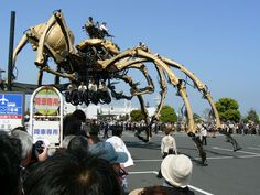 "The city of Yokohama ""spider"" of the machine body 2. OMGosh! I love this!!"