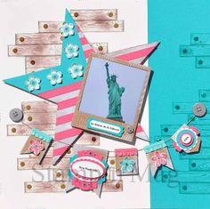 Stampin'mag - Photo imposée : la Statue de la Liberté Réalisée par Marianne