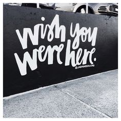 Mural hand lettering // by Jasmine Dowling