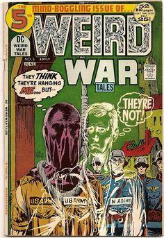 BRONZE AGE 1972 WEIRD WAR TALES #5 DC COMICS TOTH ART!!