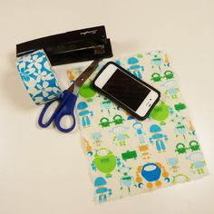 No Sew Duct Tape Pouch DIY