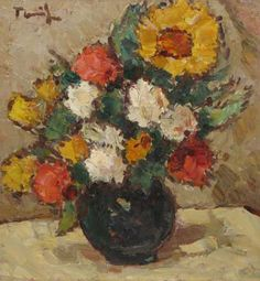 Romania, Flower Art, Art History, Abstract, Drawings, Beautiful, Flower Paintings, Facebook, Expressionism