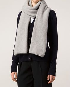 The Elder Statesman Fine Knit Scarf