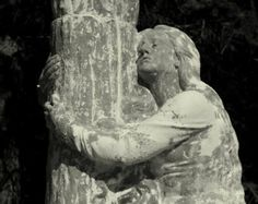 Items similar to Devotion, Mary Magdalene Clings to Foot of the Cross, Black and White, Fine Art Photography, Choice of Size on Etsy Religious Icons, Christian Life, Fine Art Photography, Art History, Mary, Faith, Sculpture, Black And White, Religion