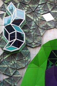 RMIT Swanston Academic Building, Melbourne, Australia by Lyons Architecture