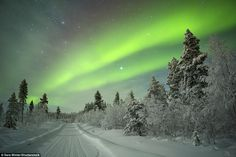 Follow in Santa's sleigh trails: A visit to Finnish lapland in February is the perfect time to see the spectacular aurora borealis