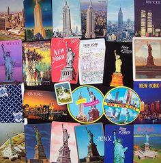 New York souvenir playing card - backs by jenX5, via Flickr