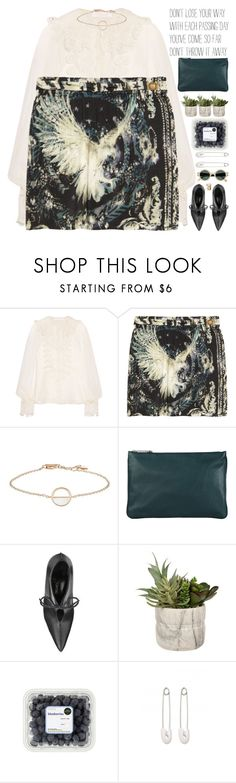 """""""you are not unloveable just because people have treated you poorly"""" by rupp ❤ liked on Polyvore featuring Chloé, Balmain, Jil Sander and Kristin Cavallari"""