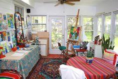clean studio by PollyPainting, via Flickr