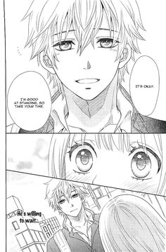 Nanohana no Kare. This manga is new and cuuuute. Exept for annoying friend. Annoying friend is biatchy....
