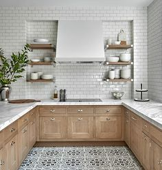 33 Ideas Light Wood Kitchen Countertops Subway Tiles For 2019 Home Design, Küchen Design, Layout Design, Design Ideas, Sink Design, Design Styles, Creative Design, Design Trends, Home Decor Kitchen
