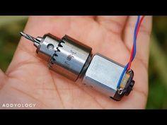 How to Make a High Speed Mini Drill Machine - YouTube