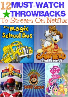 12 Must-Watch Throwbacks To Stream On Netflix #StreamTeam