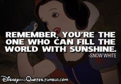 #DisneyQuotes - #SnowWhite