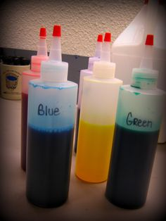 Art in the Middle...school: Awesome watercolors...    Old markers in 1/2 cup water -soak and save as watercolor paint