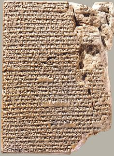 The Babylonian cuneiform tablet with stew recipes BC). Courtesy of Yale Babylonian Collection - In my Iraqi Kitchen: Recipes, History and Culture, by Nawal Nasrallah Ancient Mesopotamia, Ancient Civilizations, Ancient Aliens, Ancient History, Art History, Ancient Recipes, Ancient Near East, Ancient Greek, Cradle Of Civilization