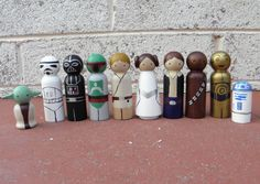 Wooden Toys are the best....the fact that they are Star Wars makes them better!