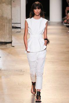 Spring Trend: Eyelets, fashion week, Isabel Marant SS15/Garance Doré