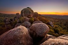 Catherdral Rock National Park - New England Tablelands - New South Wales, Australia
